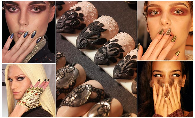 Latest Trending Manicures And Nail Designs