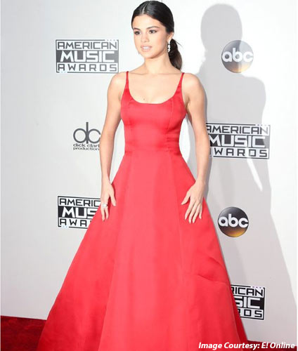 Red Ballgown Dress