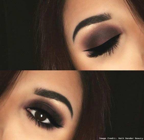 Reddish Eyeshadow