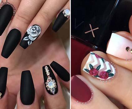 Matte Rose Design