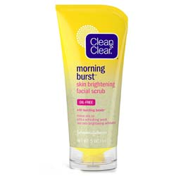 Clean and Clear Morning Burst Skin Brightening Facial Scrub