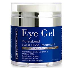 Pure Body Naturals Eye Gel Professional Eye and Face Treatment