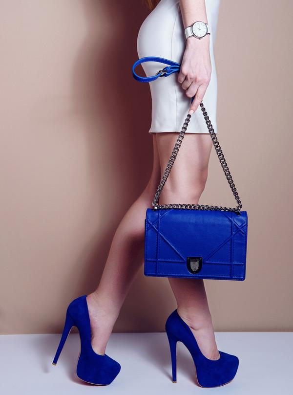 Blue Footwear