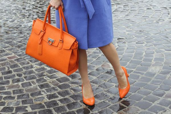 Orange Footwear