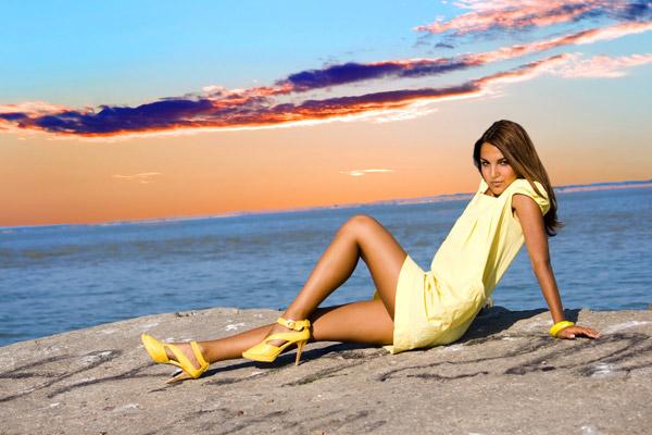 Yellow Footwear