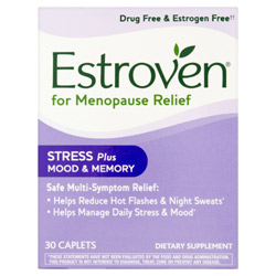 Estroven Stress Plus Mood & Memory Multi-Symptom Menopause