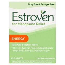 Estroven Plus Energy Menopause Supplement, 40ct