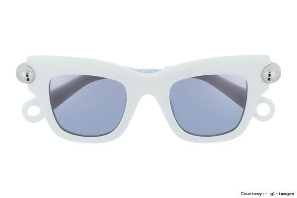 Christopher Kane Sky Blue Sunglasses