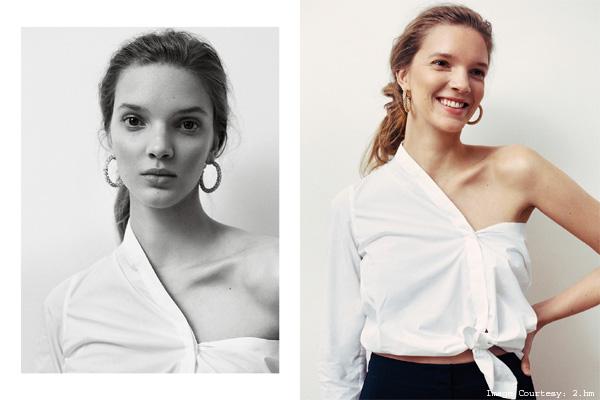 Deconstructed White Shirt