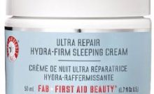 First Aid Beauty Ultra Repair Hydra-Firm Sleeping Cream Review : Ingredients, Side Effects, Detailed Review And More