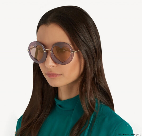 Miu Miu Detailed Sunglasses