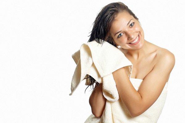 Rough Towel Drying