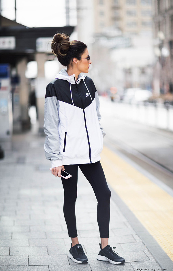 Sporty Tee And Jacket