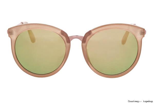 Topshop Round Sunglasses