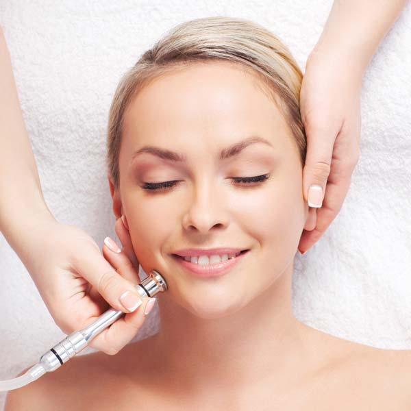 Microdermabrasion helps treat smoker line