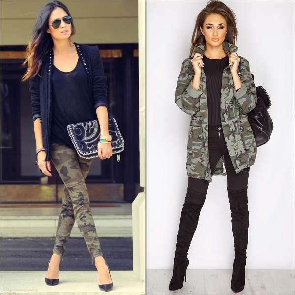 Military Pants And Jackets