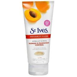St. Ives Apricot Scrub Blemish and Blackhead Control Review