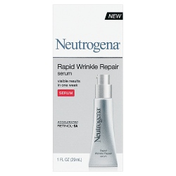 Neutrogena's Rapid Wrinkle Repair Serum