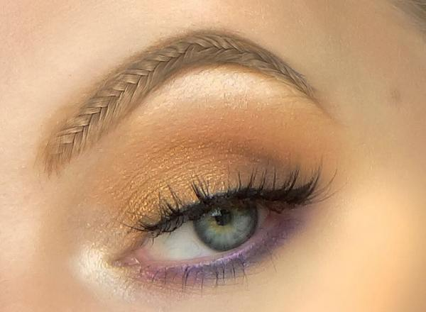 braided brows cane be wear like False Eyelashes