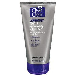 Clean And Clear Advantage 3 In 1 Exfoliating Cleanser Review