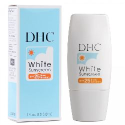 DHC White Sunscreen SPF 25 Review