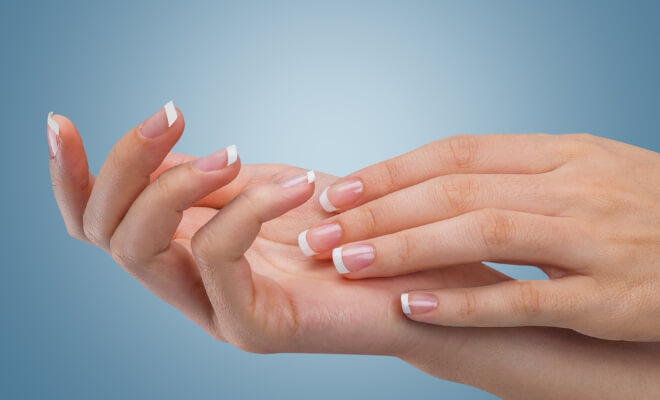 how to stop dry skin around nails