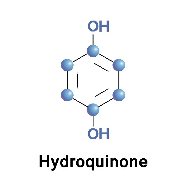 Hydroquinone solution to trat photoaging