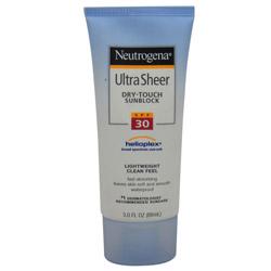 Neutrogena Ultra Sheer Sunblock Sunscreen SPF 30