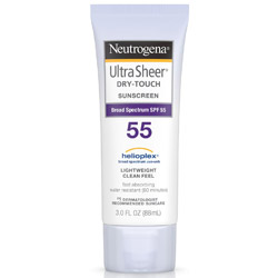 Neutrogena Ultra Sheer Sunblock Sunscreen SPF 55