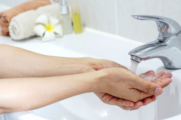 Washing Your Hands Often Can Lead To Dry Skin Around Nails