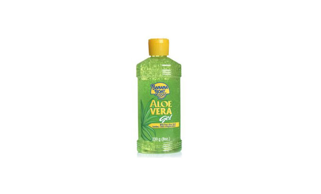 banana boat aloe gel review