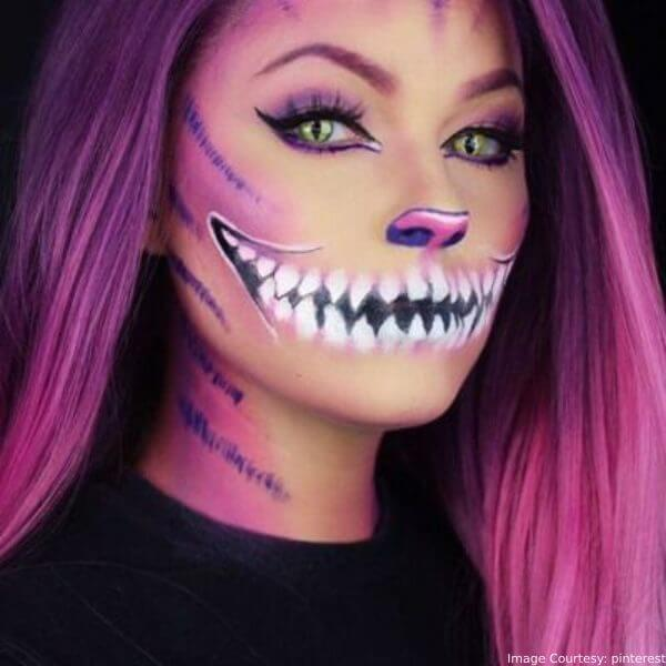 Cheshire Cat Purple For Halloween