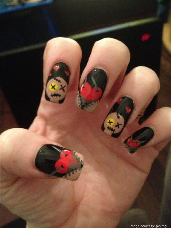 Halloween Horror Nights Nail Art