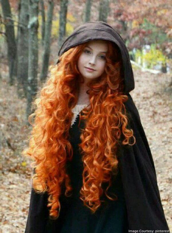 Merida's Red Hair Halloween Special