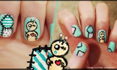 9 Spooktacular Voodoo Doll Nail Art Ideas That Are Frightfully Fab