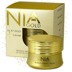 Nia Gold Retinol Night Cream