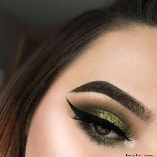 Thanksgiving Elegant Emerald Eye Makeup