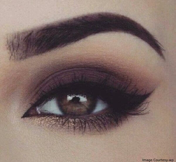 Thanksgiving Red Wine Eye Makeup