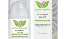 Amara Organics Total repair Eye Gel Review: Ingredients, Side Effects, Detailed Review And More