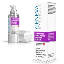 Geneva Naturals Anti-Aging Retinol Cream