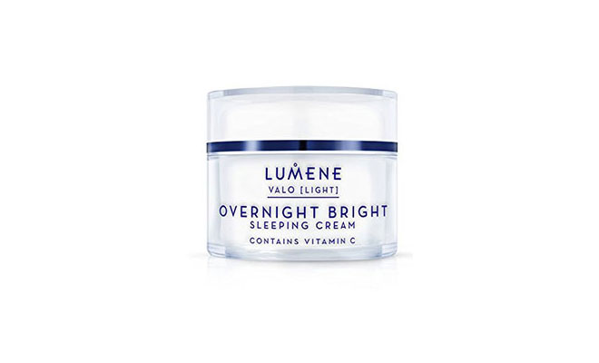 lumene-overnight bright sleeping cream