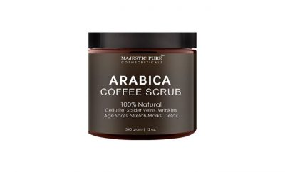 Majestic pure Arabica Coffee Scrub Review: Ingredients, Side Effects, Customer Reviews And More.