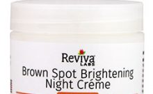 Reviva Labs Brown Spot Brightening Night Cream Review: Ingredients, Side Effects, Detailed Review And More.