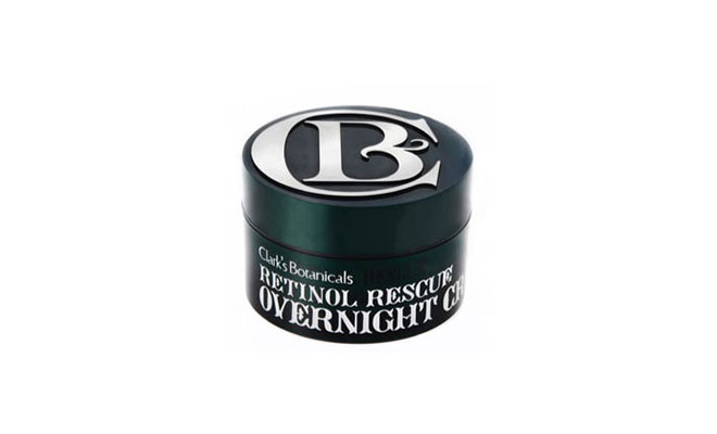 clarks retinol rescue overnight cream