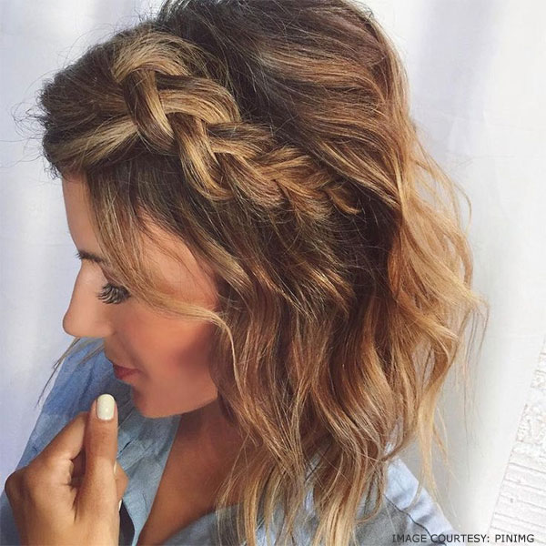 Cute short grecian hairtyle inspirations