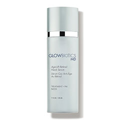 glowbiotics neck serum