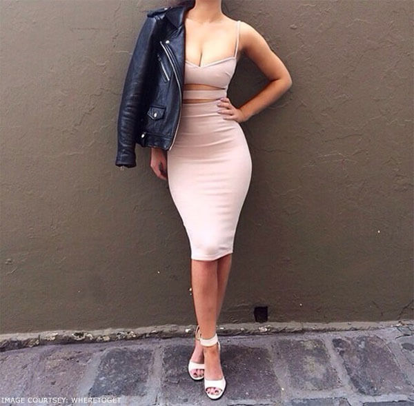 Jackets or trenchcoat to slay while wearing bodycon outfit effortlessly