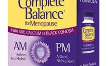 Natrol Complete Balance For Menopause Review: Ingredients, Side Effects, Customer Reviews And More.