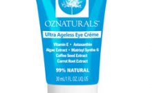 OZNaturals Ultra Ageless Eye Cream Review : Ingredients, Side Effects, Detailed Review And More.