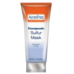 Acnefree Therapeutic Sulfur Mask Review 2018